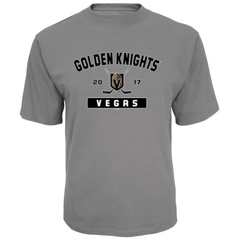 NHL Vegas Golden Knights Men s Center Ice Gray T-Shirt   Target aef2726ac