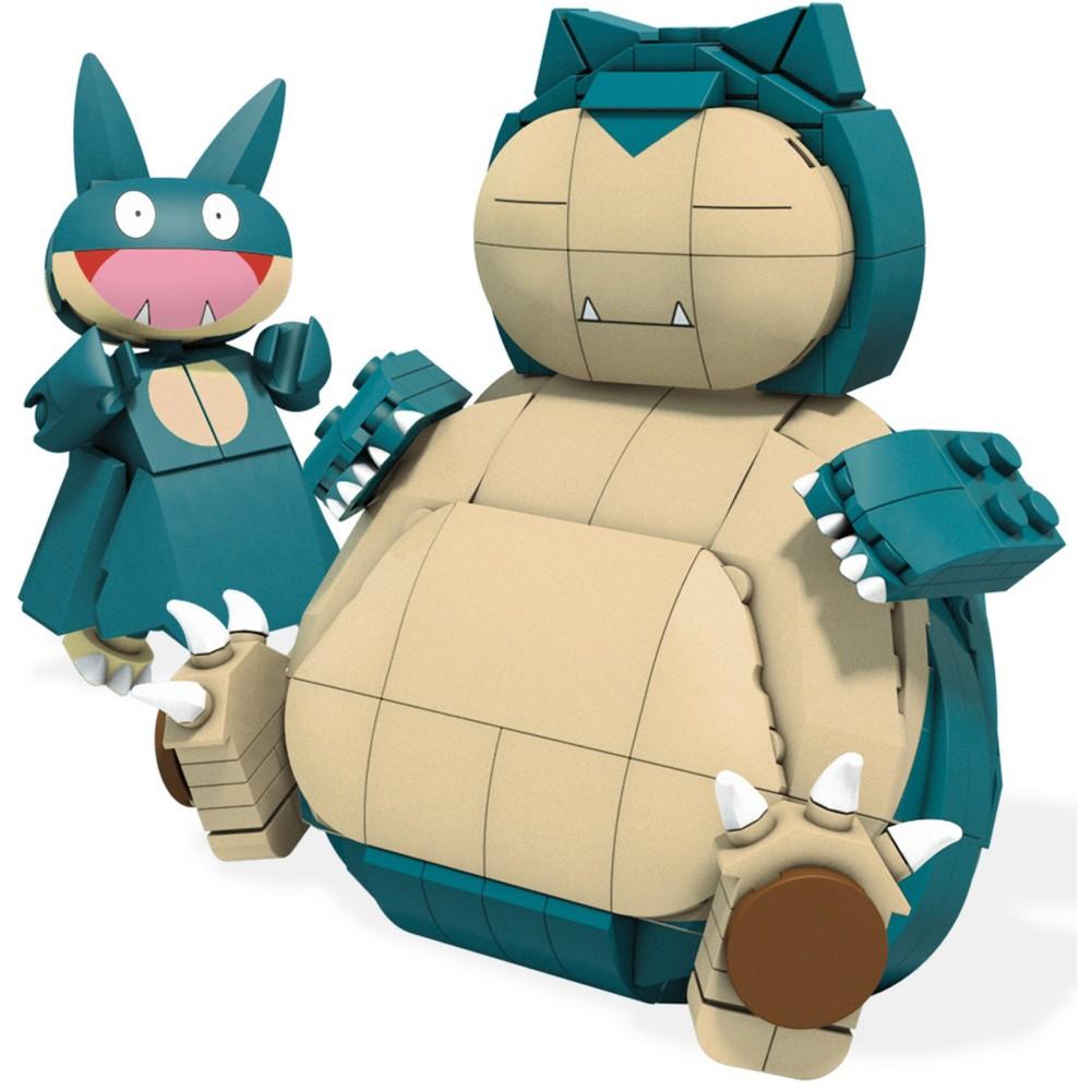 Mega Construx Pokemon Snorlax and Munchlax Building Set