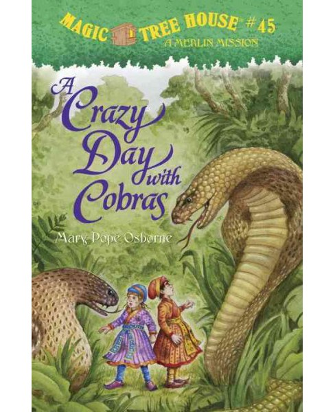 Crazy Day With Cobras (Hardcover) (Mary Pope Osborne) - image 1 of 1