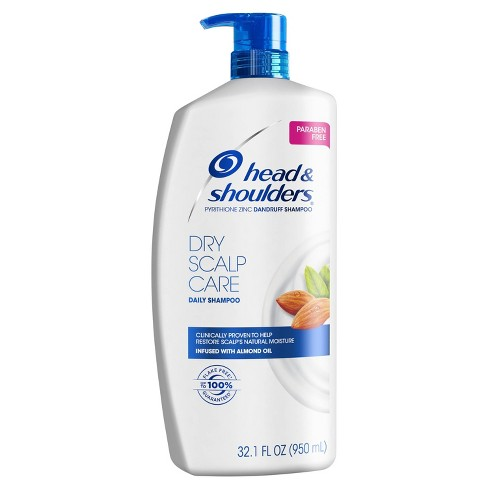 Head & Shoulders Dry Scalp Care Dandruff Shampoo with Almond Oil - image 1 of 4