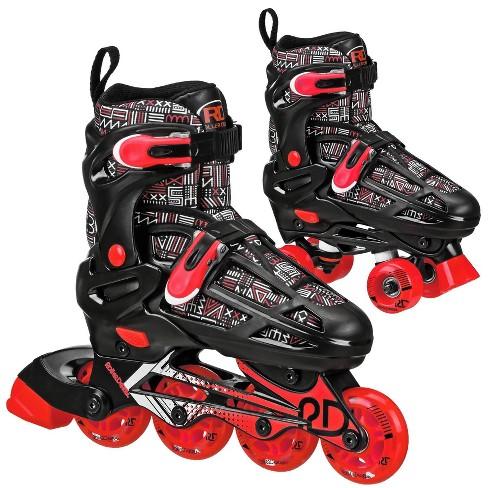 Roller Derby Caspian Boys Adjustable Inline-Quad Combo Skates - image 1 of 4
