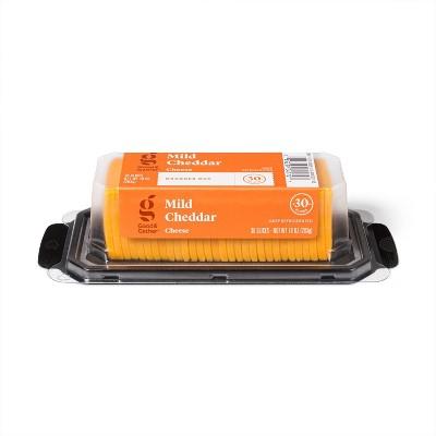 Mild Cheddar Cracker Cut Cheese - 10oz/30 slices - Good & Gather™