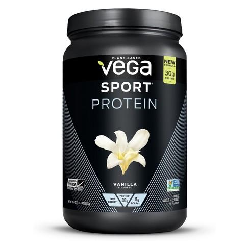 Vega Sport Protein Vegan Powder - Vanilla - 20 4oz