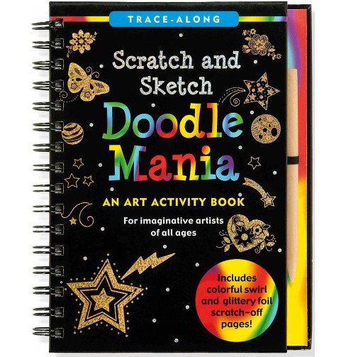 Doodle Mania Scratch & Sketch -  (Hardcover) - image 1 of 1