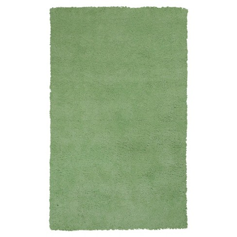 """Spearmint Green Solid Woven Area Rug 3'3""""x5'3"""" - KAS Rugs - image 1 of 1"""