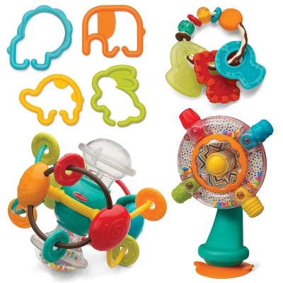 Infantino Gaga Shake, Turn, Link & Teethe Activity Set