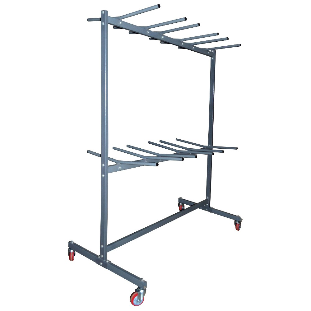 "Image of ""67"""" 2 Tier Chair Cart Gray - PDG"""