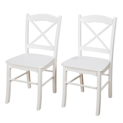 Set of 2 Tiffany Cross Back Chairs - Buylateral