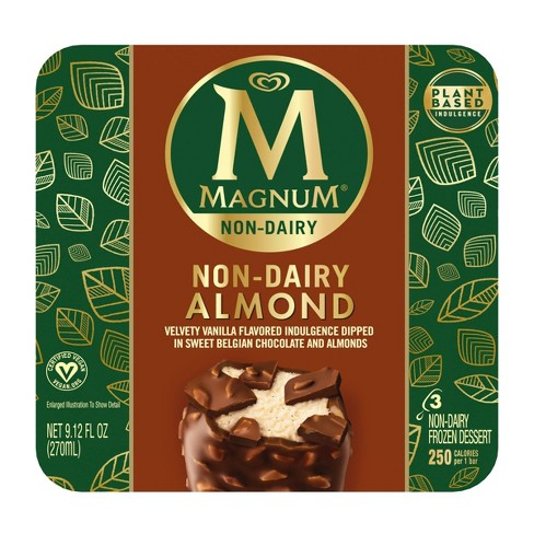 Magnum Non-Dairy Vegan Frozen Dessert Almond Ice Cream Bar - 3ct - image 1 of 4