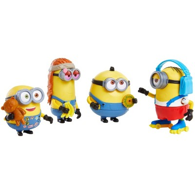 Minions: The Rise of Gru Minions on the Move Van with 4 Figures