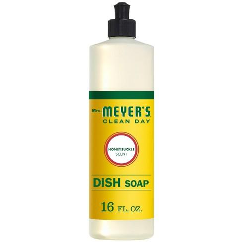 Mrs. Meyer's Clean Day Honeysuckle Scent Liquid Dish Soap - 16oz - image 1 of 4