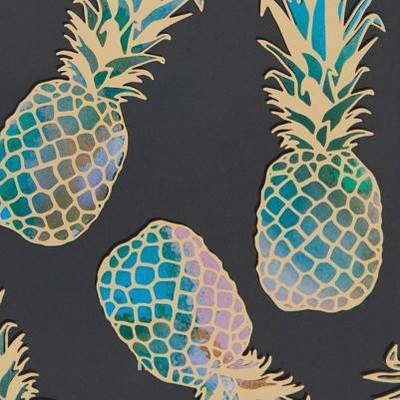 Liana Teal/Pineapple