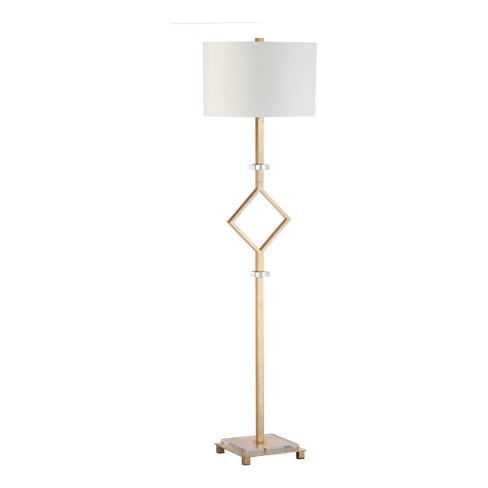 Tonia Floor Lamp Gold Leaf (Includes Energy Efficient Light Bulb) - Safavieh - image 1 of 2