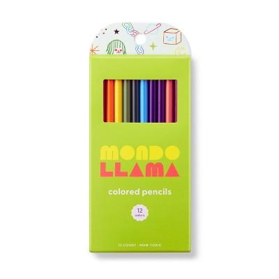 12ct Colored Pencils - Mondo Llama™