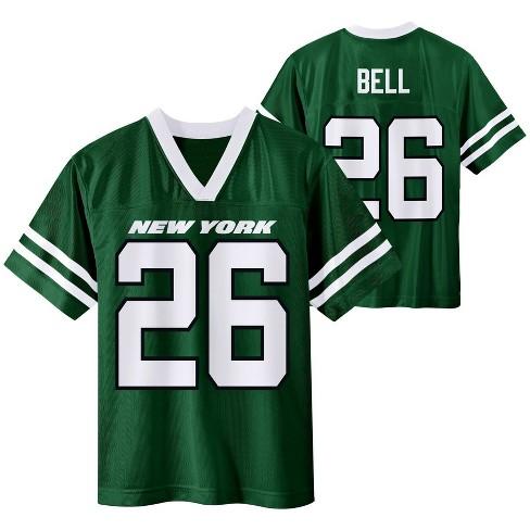 NFL New York Jets Boys' Le'Veon Bell Short Sleeve Jersey - L