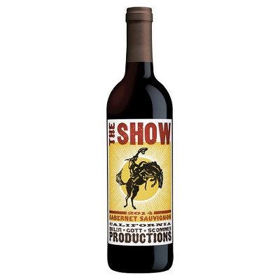 The Show Cabernet Sauvignon Red Wine - 750ml Bottle