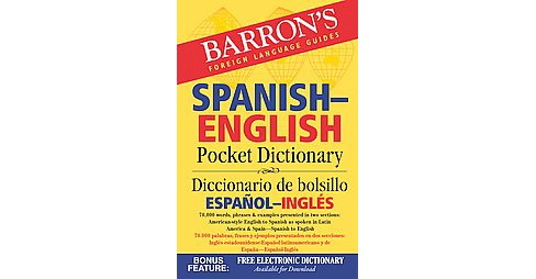 Barron's Spanish-English Pocket Dictionary / Diccionario de bolsillo Espanol-Ingles : 70,000 Words, - image 1 of 1