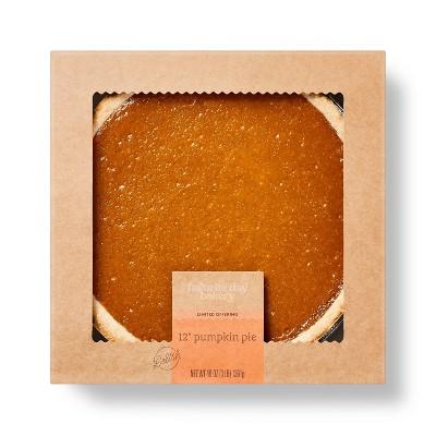 """Pumpkin Pie - 12""""/48oz - Favorite Day™"""