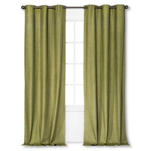 "Windsor Light Blocking Blackout Curtain Panel Green (42""x95"") - Eclipse™ - image 1 of 4"