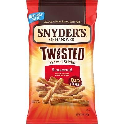 Snyder's Twisted Sticks Pretzels - 12oz