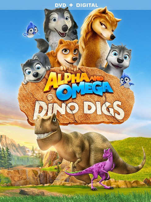 Aplha and Omega: Dino Digs (DVD) - image 1 of 1