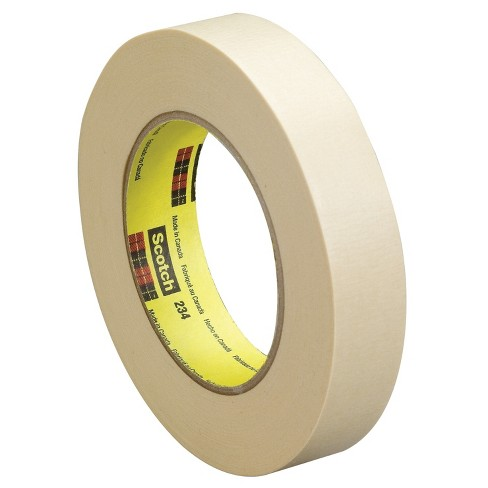 Scotch 234 General Purpose Masking Tape, 1.50 Inches x 60 Yards, Tan - image 1 of 1