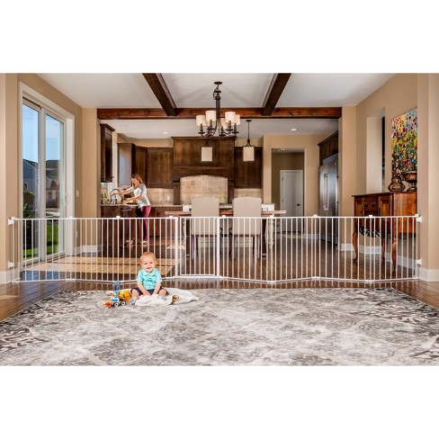 Regalo Super Wide Baby Gate and PlayYard - image 1 of 4