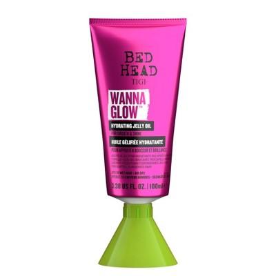 TIGI Bed Head Wanna Glow Hydrating Jelly Oil for Shiny Smooth Hair - 3.38 fl oz
