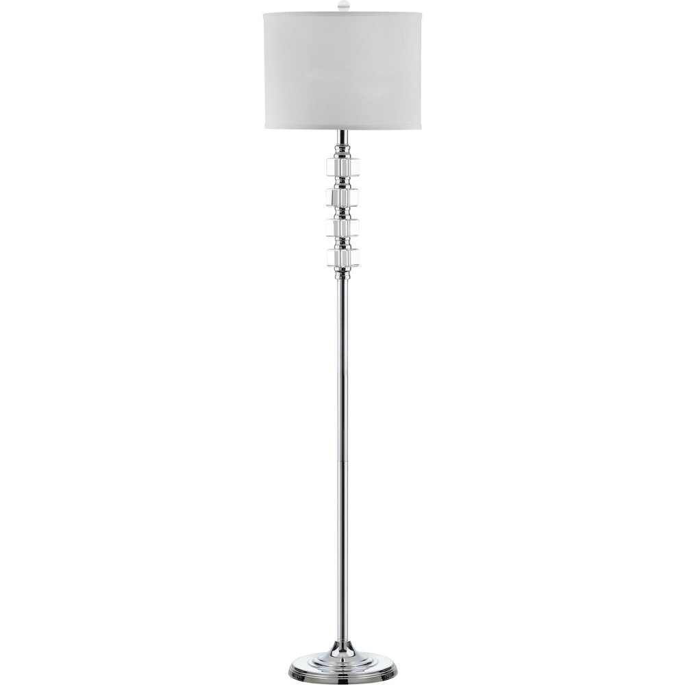 Reese Floor Lamp - Safavieh (Lamp Includes Energy Efficient Light Bulb), Silver