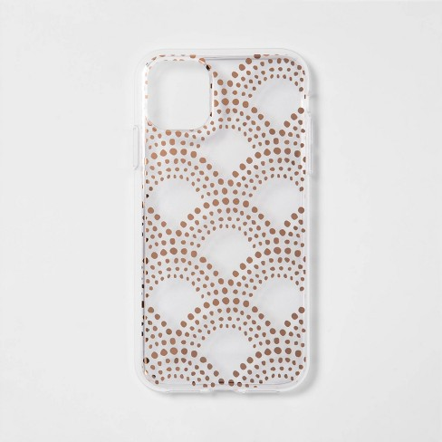 heyday™ Apple iPhone 11 Case - Scallop Dot - image 1 of 2