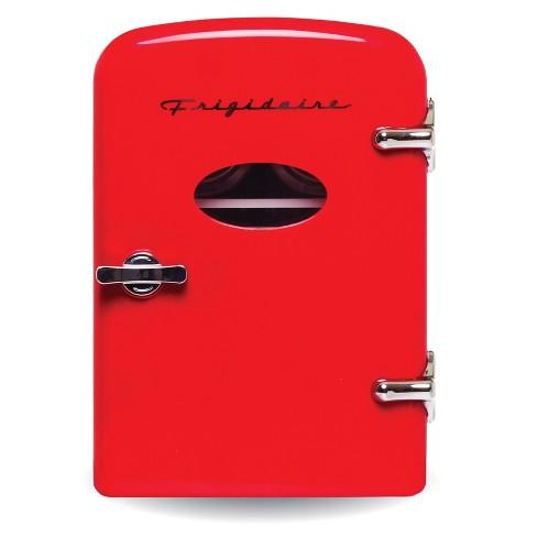 Frigidaire 6-Can Mini Retro Beverage Fridge - Red - image 1 of 3