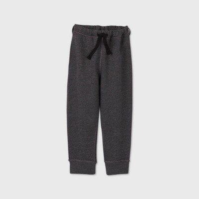 Toddler Boys' Adaptive Fleece Jogger Pants - Cat & Jack™ Gray
