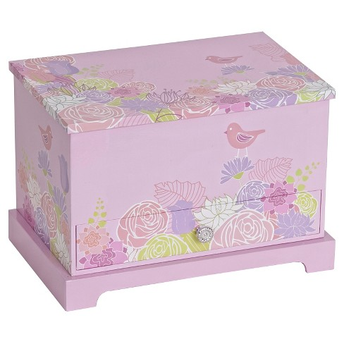 Mele & Co. Piper Girls' Musical Ballerina Jewelry Box - Pink - image 1 of 2