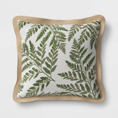 Outdoor Throw Pillow Fern - Threshold™