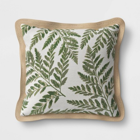 Outdoor Throw Pillow Fern Threshold Target