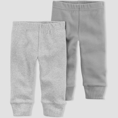 Baby Boys' 2pk Pants - Little Planet by Carter's Gray Preemie