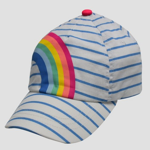 8d295dd97 Baby Girls' Rainbow Baseball Hat - Cat & Jack™ 12-24M