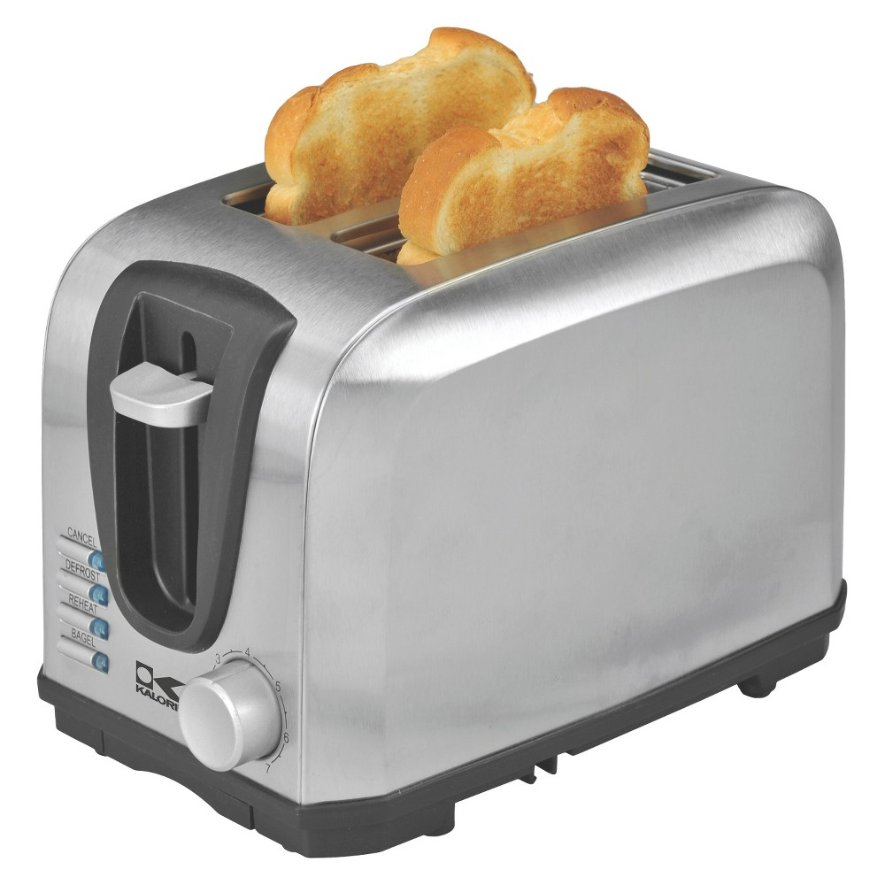 Image of Kalorik 2-Slice Toaster - Stainless Steel