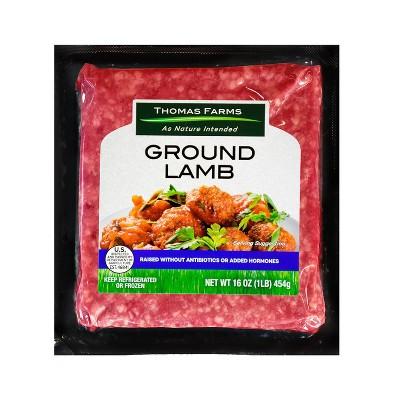 Thomas Farms Grassfed Ground Lamb - 16oz