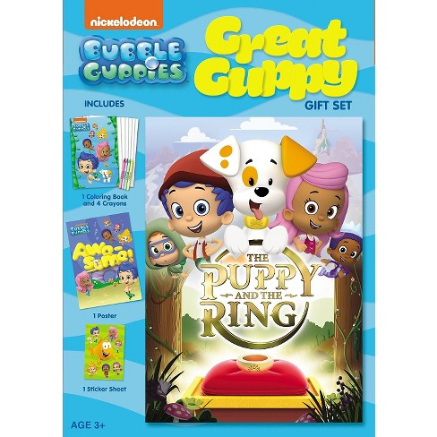 Bubble Guppies: The Puppy and the Ring Great Guppy Gift Set