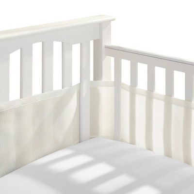 Breathable Baby® Solid Mesh Crib Liner - Ecru