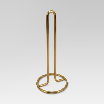 Gold-plated Paper Towel Holder - Threshold™