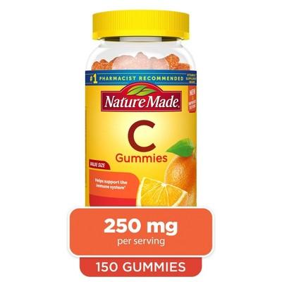 Nature Made Vitamin C 250 mg Gummies - Tangerine