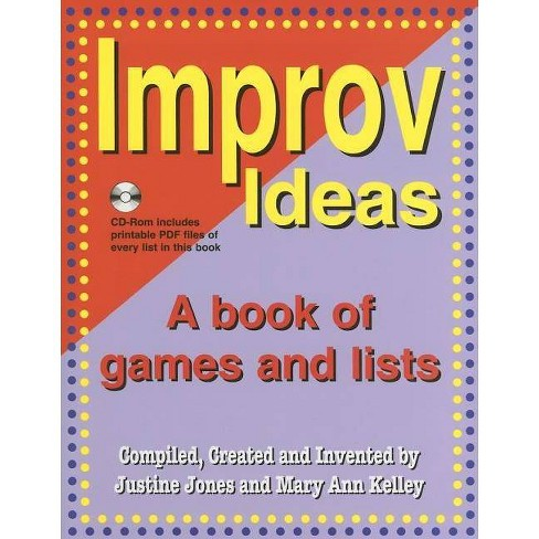 Improv Ideas - by  Justine Jones & Mary Ann Kelley (Mixed media product) - image 1 of 1