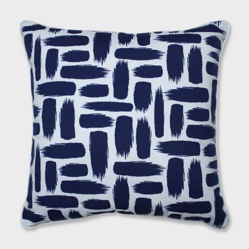 """25"""" Baja Nautical Floor Pillow Blue - Pillow Perfect - image 1 of 1"""