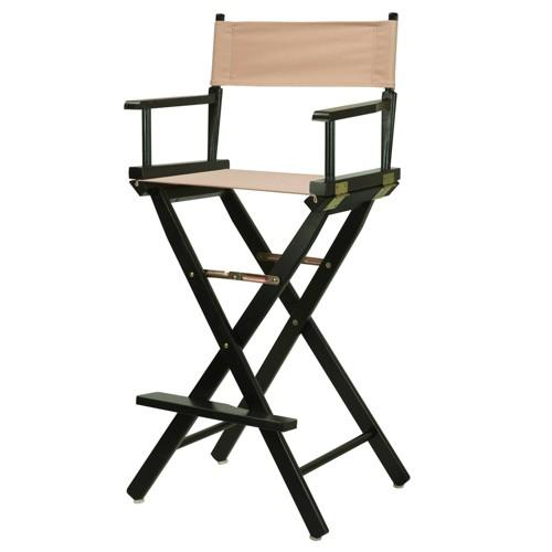 Tan Bar Height Director's Chair