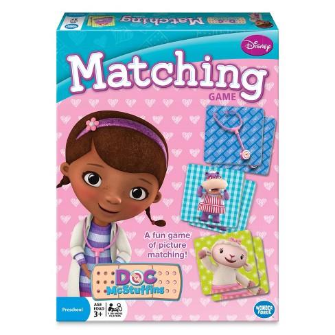 Disney Doc McStuffins Matching Game - image 1 of 4