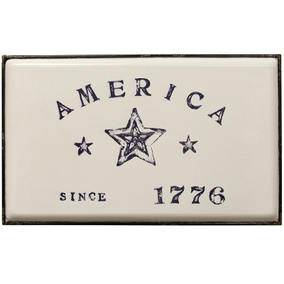 26.8  Declare Independence Traditional Americana Decorative Wall Art - StyleCraft