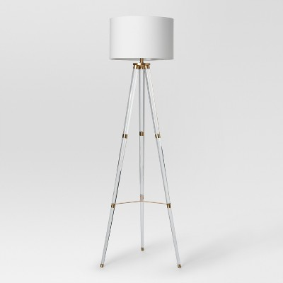Delavan Tripod Floor Lamp Clear Lamp Only - Project 62™
