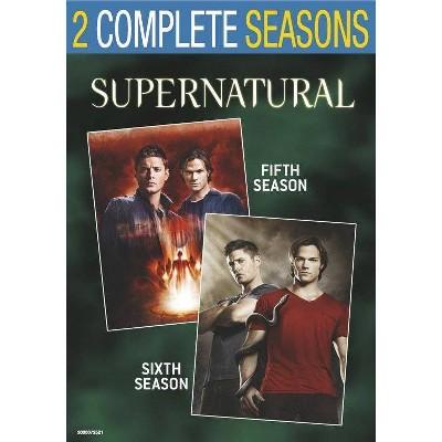 Supernatural: Seasons 5 & 6 (DVD)